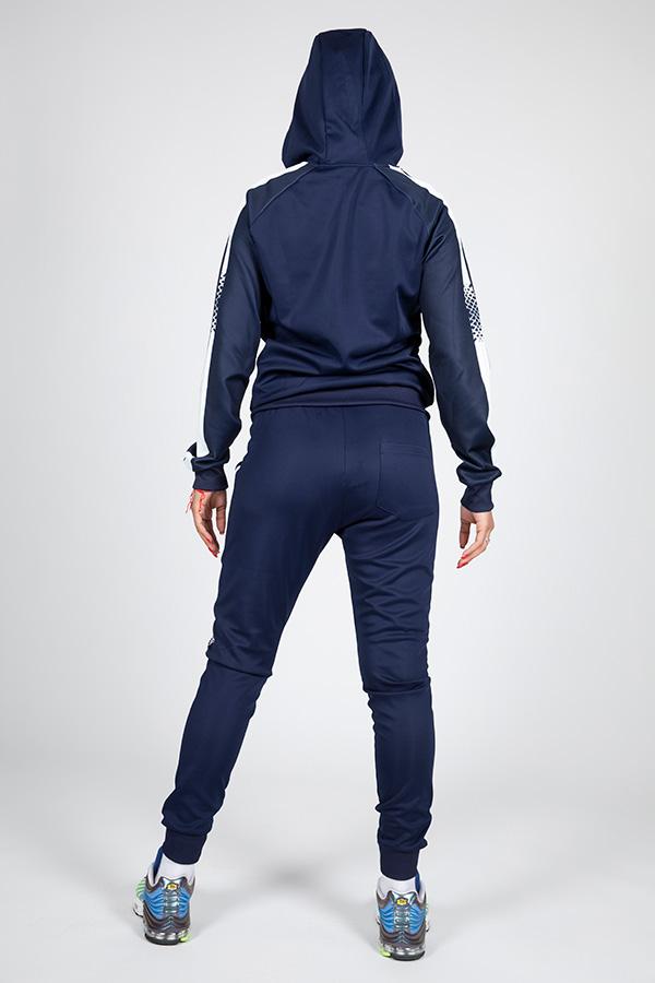 Jogging femme bleu 8