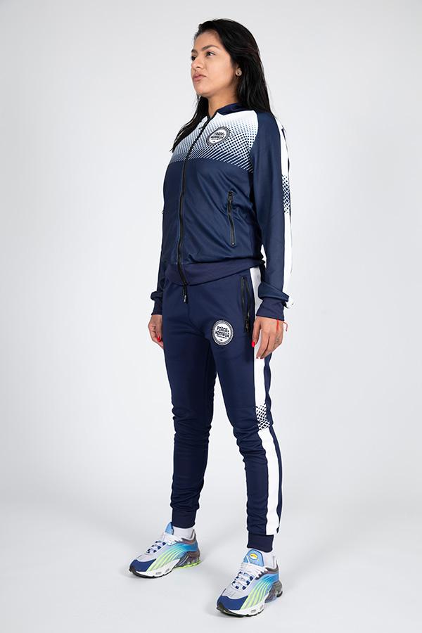 Jogging femme bleu 10