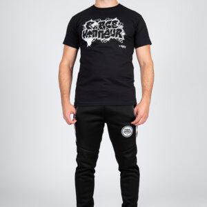 T-shirt noir dgee 8