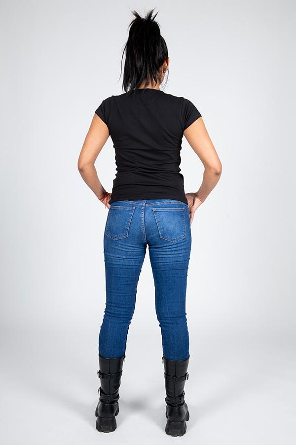 T-shirt femme noir Logo 9