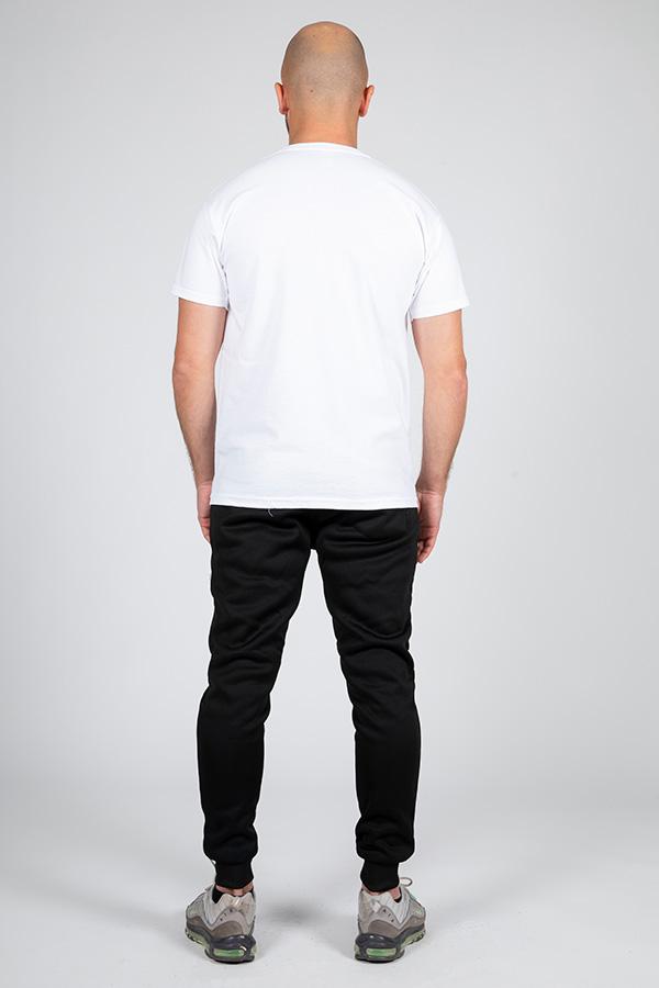 T-shirt blanc Glad 2