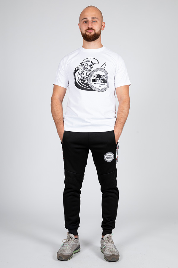 T-shirt blanc Glad 8