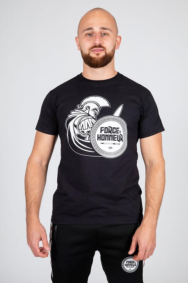 T-shirt noir Glad