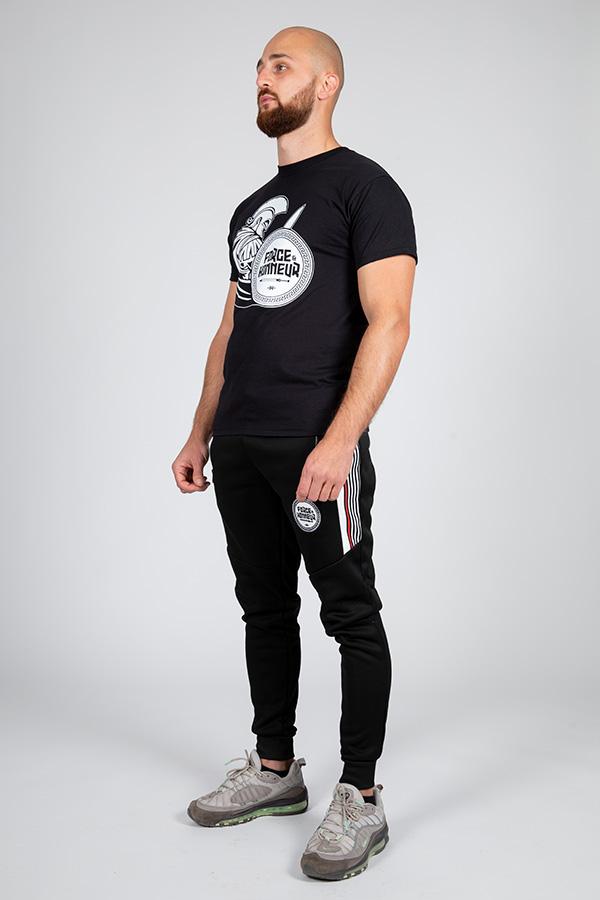 T-shirt noir Glad 5