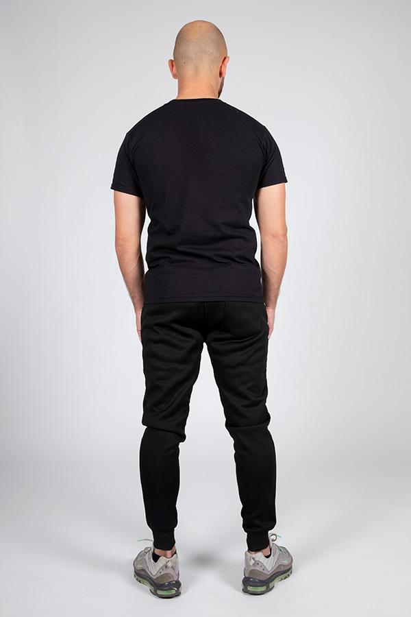 T-shirt noir Glad 6