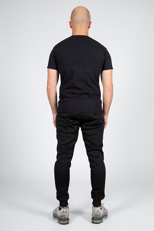 T-shirt noir logo 4
