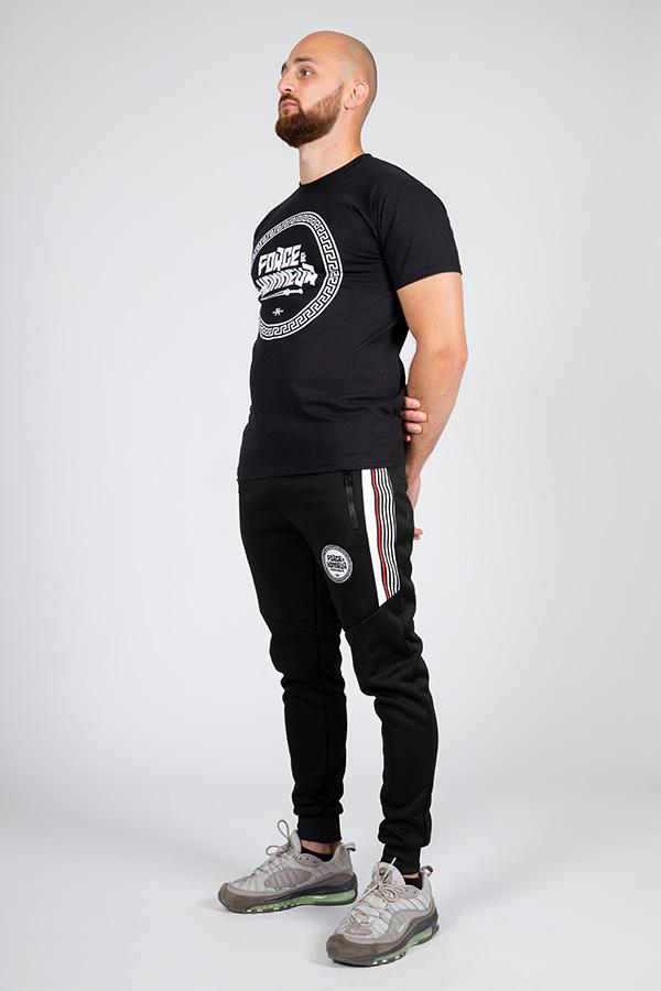 T-shirt noir logo 5