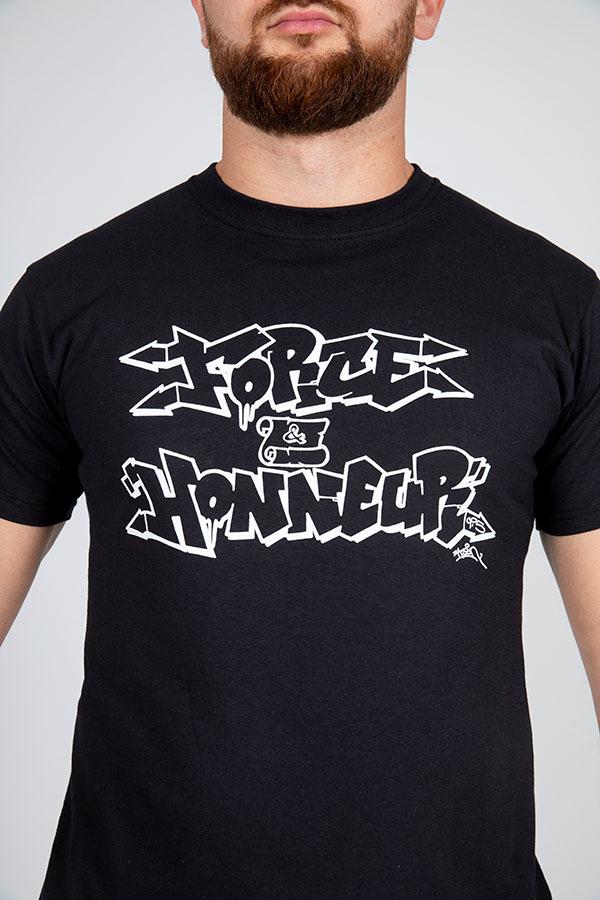 T-shirt noir vav k son 3