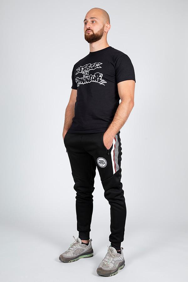 T-shirt noir vav k son 6