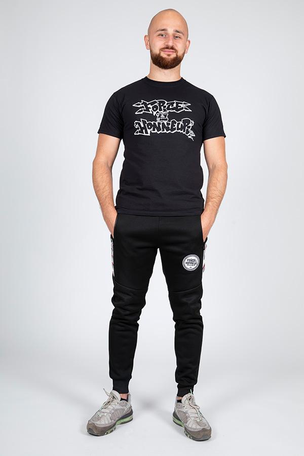 T-shirt noir vav k son 7