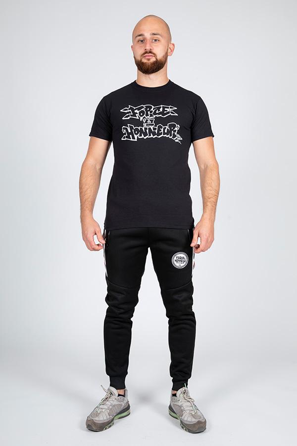 T-shirt noir vav k son 8